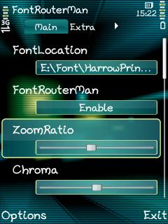 symbian font